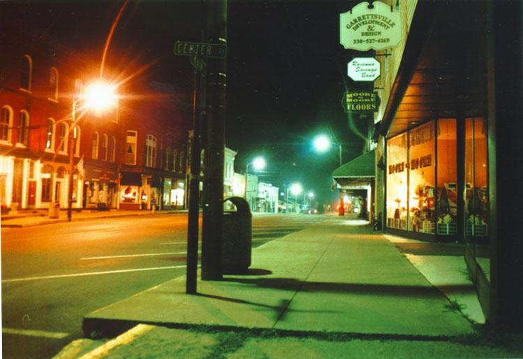 City Street Lights At Night Scott teresi - city lights